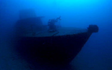 Photo's of the wreck of Petaj